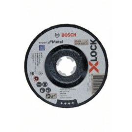 Lihvketas Bosch Expert for Metal X-LOCK; Ø125x6,0 mm