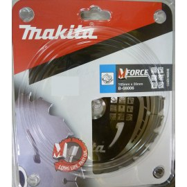 Saeketas puidule Makita MFORCE; 165x2x20,0 mm; Z24; 15°