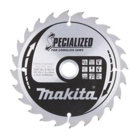 Saeketas puidule Makita; 165x1,5x20,0 mm; Z24; 20°