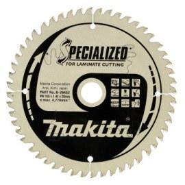 Saeketas laminaadile Makita; 165x1,45x20,0 mm; Z52; 5°