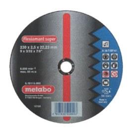 Abrasiiv lõikeketas Metabo; 230x2,5 mm metallile