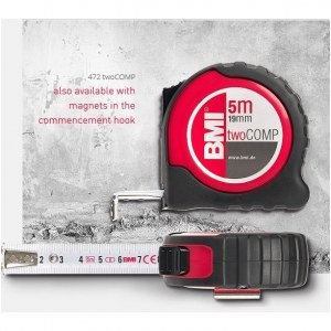 Mõõdulint BMI twoCOMP B472841021M; 8 m