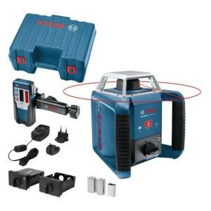 Pöördlasernivellir Bosch GRL 400 H + Laserkiire vastuvõtja LR 1