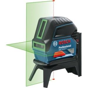 Lasernivelliir Bosch GCL 2-15 G roheline + universaalkinnitus RM1