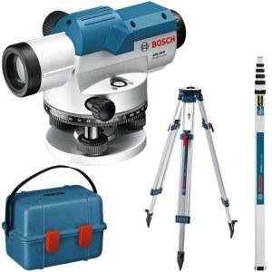 Optiline nivelliir Bosch GOL 26D + Statiiv BS 160 + Mõõdulatt GR 500