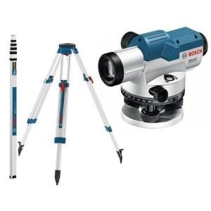 Optiline nivelliir Bosch GOL 32D + Statiiv BS 160 + Mõõdulatt GR 500