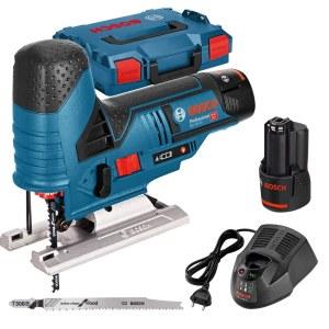 Tikksaag Bosch GST 12V-70 Professional; 12 V; 2x3,0 Ah aku