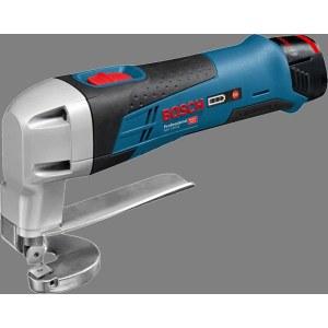 Juhtmevabad õhukese lehtmetalli lõikekäärid Bosch GSC 12V-13 (ilma aku ja laadijata)