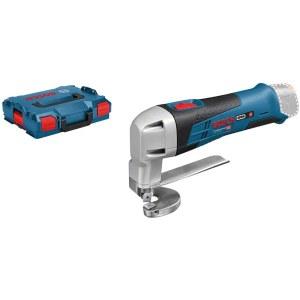 Juhtmevabad õhukese lehtmetalli lõikekäärid Bosch GSC 12V-13 SOLO; 12 V (ilma aku ja laadijata)