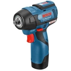 Löökmutrikeeraja Bosch GDS 12V-115; 12 V; 2x3,0 Ah aku