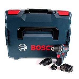 Trell-kruvikeeraja Bosch GSR 12V-35 FC; 12 V (ilma aku ja laadijata) + Tarvikud