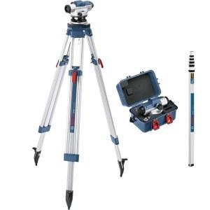 Optiline nivelliir Bosch GOL 26D + BT160 Prof. + GR500 Prof.