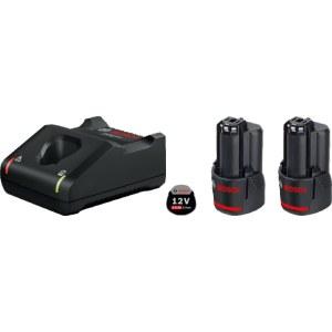 Tarvikute komplekt Bosch GBA; 12 V; 2x2,0 Ah + Laadija GAL 12V-40