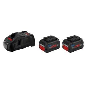 Tarvikute komplekt Bosch GBA ProCORE; 18 V; 2x5,5 Ah aku. + laadija GAL 1880CV
