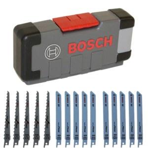 Tikksae komplekt Bosch ToughBox Wood/Metal; 15 tk