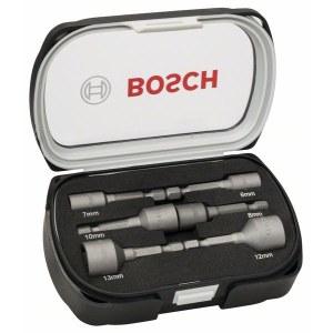 Padrunvõtmete komplekt Bosch 50mm 2608551079; 6-13 mm; 6 tk