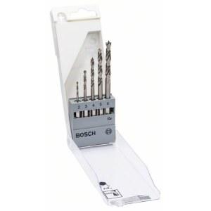 Puidupuuride komplekt Bosch; 2-6 mm; 5 tk