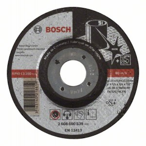 Lihvketas Bosch AS 30 S INOX BF; 115x6 mm