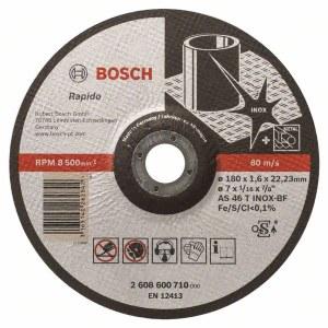 Abrasiiv lõikeketas Bosch AS 46 T INOX BF; 180x1,6 mm