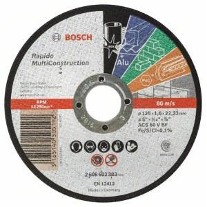 Abrasiiv lõikeketas Bosch C60 T BF; 125x1,6 mm