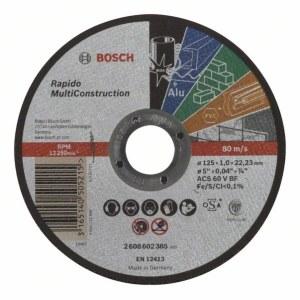 Abrasiiv lõikeketas Bosch C60 T BF; 125x1 mm