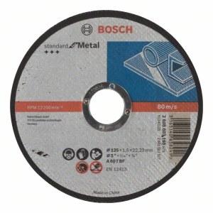 Abrasiiv lõikeketas Bosch Standard; 125x1,6 mm