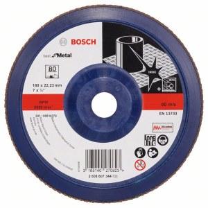 Kroonlehine lihvketas Bosch Best for Metal; 180 mm
