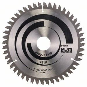 Saeketas puidule Bosch MULTI MATERIAL; 180x2,4x30,0 mm; Z48; -5°