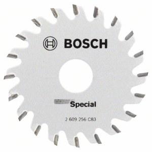 Saeketas puidule Bosch Multi Precision; 65x1,6x15,0 mm; Z20