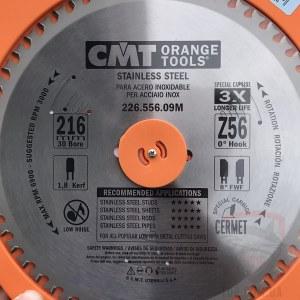 Saeketas metallile CMT 216x1.8x30; Z56; 10°