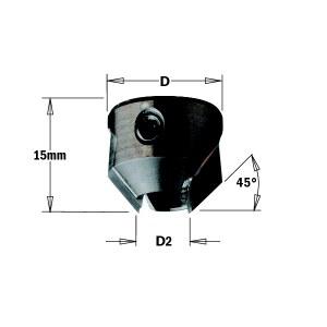 Süvistuspuur CMT 316.050.12; 16 mm; D2=5 mm