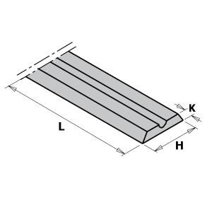 Höövel CMT 790.992.00; 92x5,5x1,1 mm; HWM; 10 tk