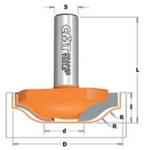 Nurkfrees CMT; S=1/2''; D=50 mm; R=12 mm