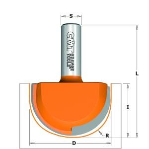 Nurkfrees CMT; S=12 mm; D=50,8 mm; R=25,4 mm