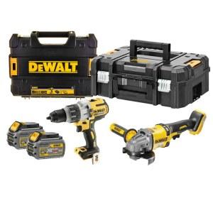 Tööriistakomplekt DeWalt (DCD996 + DCG414); 18/54 V; 2x6,0 Ah aku