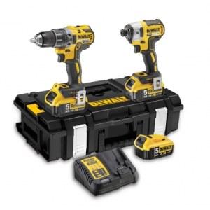 Tööriistakomplekt DeWalt DCK266P3 (DCD796+DCF887); 18 V; 3x5,0 Ah aku