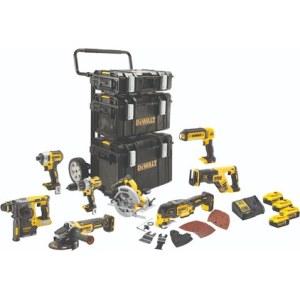 Tööriistakomplekt DeWalt DCK853P4; 18 V; 4x5,0 Ah aku