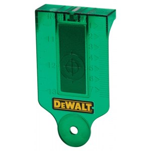 Laseri sihtplaat DeWalt DE0730G-XJ