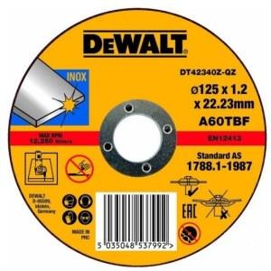 Abrasiiv lõikeketas DeWalt DT42340Z-QZ; 125x1,2 mm