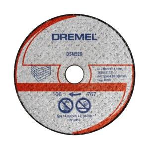 Müüritise lõikamise ketas Dremel 2615S520JB; 77 mm