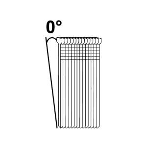 Naelad Essve F18; 1,2×45 mm; 0°; 3800 tk.; tsingitud, läikiv