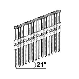 Гвозди Essve; 3,1x90 mm; 21°; 1200 шт.