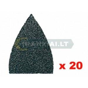 Lihvpaber deltalihvmasinatele Fein; P120; 20 tk