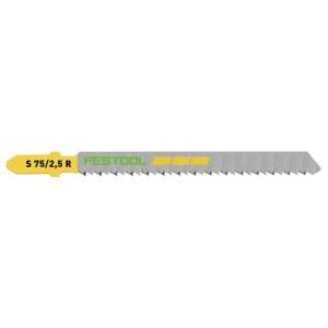 Vineerisae terad Festool; 75 mm; 2,5 mm; 5 tk