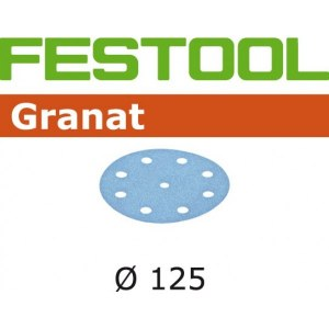 Lihvpaber ekstsentriklihvmasinatele Granat; 125 mm; P1200; 50 tk