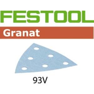 Lihvpaber deltalihvmasinatele Granat; 93 V; P80; 50 tk