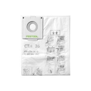Tekstiilist filtrikott tolmuimejale Festool FIS-CTH 48/3; 3 tk