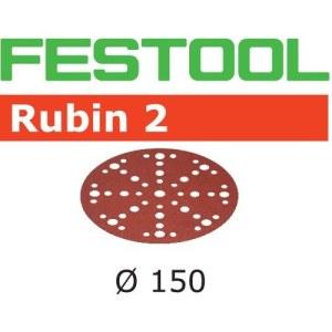 Lihvpaber ekstsentriklihvmasinatele Festool STF 150 mm; 48; P40; RU2; 10 tk