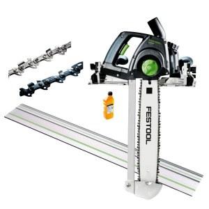Kettsaag Festool IS 330 EB-FS; 1,6 kW; 33 cm juhtplaat; elektriline + Juhtsiin Festool FS 1400/2