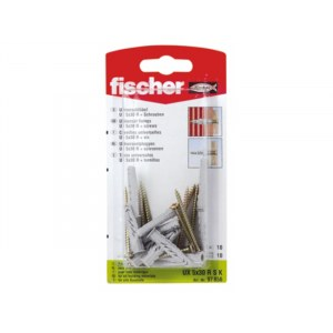 Kruvi tüübliga Fischer UX R S; 6x35 mm; 10 tk